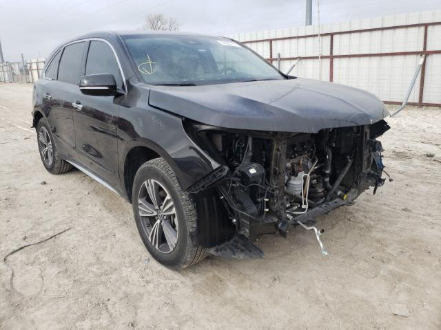 Salvage cars for sale from Copart Temple, TX: 2018 Acura MDX