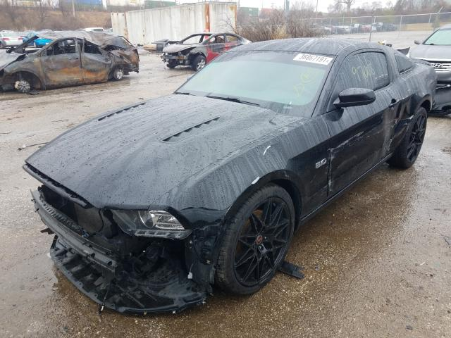 2013 FORD MUSTANG GT - Left Front View