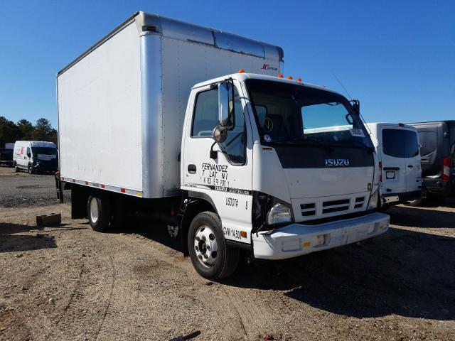 Salvage cars for sale from Copart Brookhaven, NY: 2007 Isuzu NPR