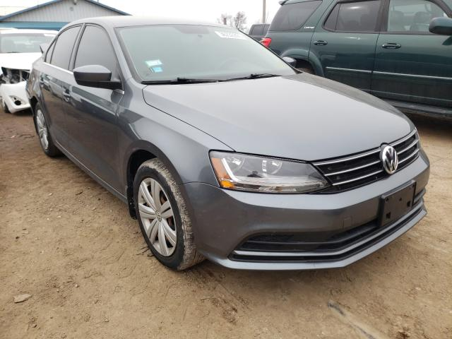 Salvage cars for sale from Copart Pekin, IL: 2017 Volkswagen Jetta S