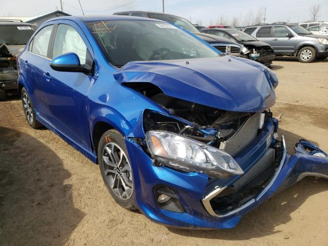 Salvage cars for sale from Copart Pekin, IL: 2020 Chevrolet Sonic