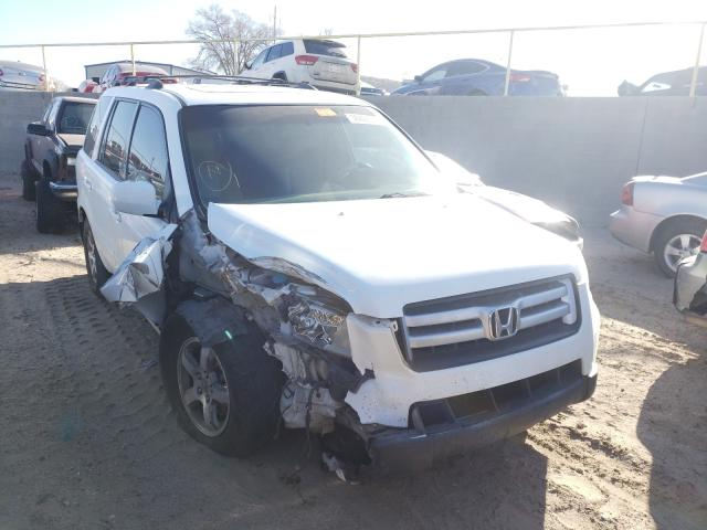Salvage cars for sale from Copart Albuquerque, NM: 2008 Honda Pilot EXL