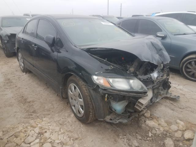 Salvage cars for sale from Copart Temple, TX: 2011 Honda Civic LX