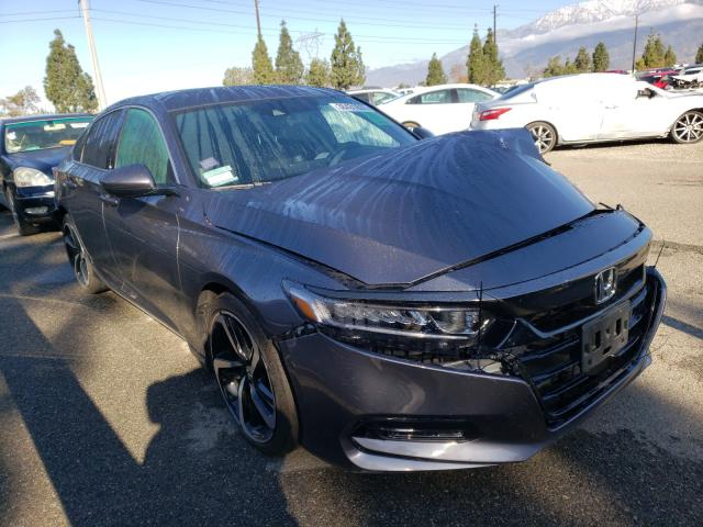 Salvage cars for sale from Copart Rancho Cucamonga, CA: 2018 Honda Accord Sport
