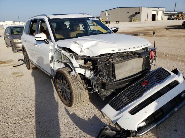 Salvage cars for sale from Copart San Antonio, TX: 2021 KIA Telluride