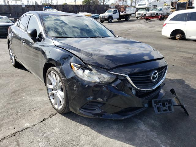 Salvage cars for sale from Copart Wilmington, CA: 2015 Mazda 6 Touring