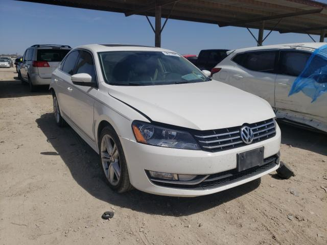 Salvage cars for sale from Copart Temple, TX: 2014 Volkswagen Passat SEL
