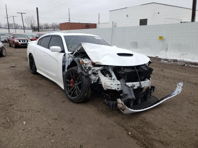 Salvage cars for sale from Copart Hammond, IN: 2018 Dodge Charger SR