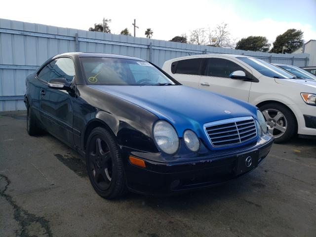Salvage cars for sale from Copart Vallejo, CA: 2001 Mercedes-Benz CLK 430