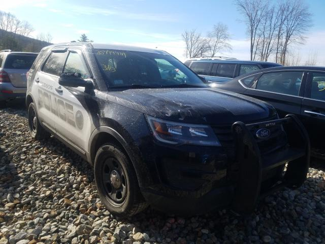 Salvage cars for sale from Copart West Warren, MA: 2018 Ford Explorer