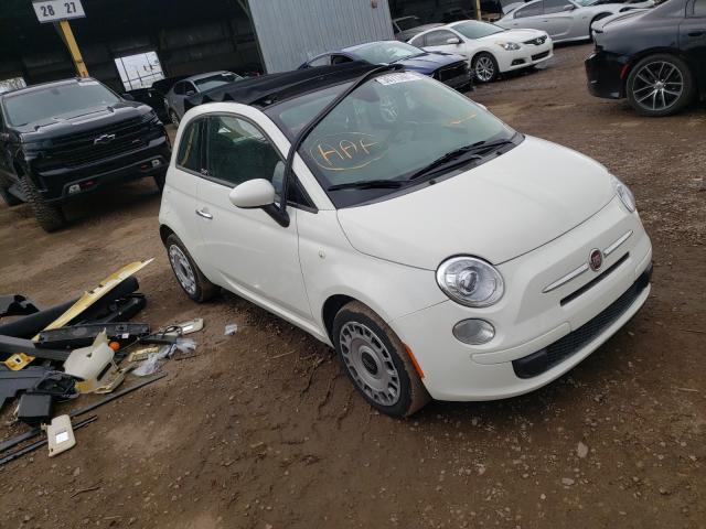 Fiat salvage cars for sale: 2013 Fiat 500 POP