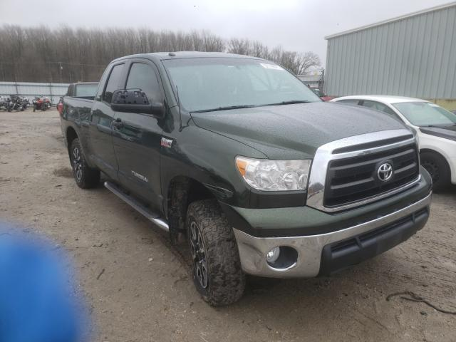 Salvage cars for sale from Copart Hampton, VA: 2013 Toyota Tundra DOU