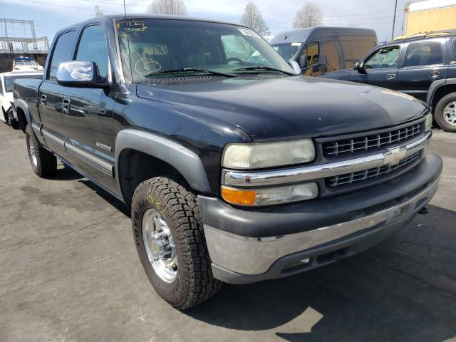Salvage cars for sale from Copart Wilmington, CA: 2002 Chevrolet Silverado