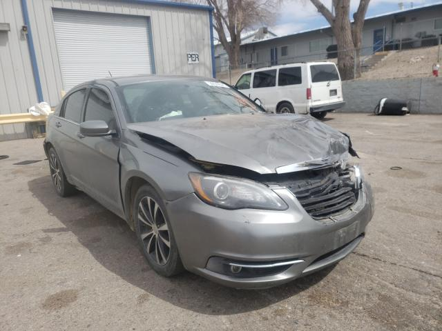 Salvage cars for sale from Copart Albuquerque, NM: 2011 Chrysler 200 S