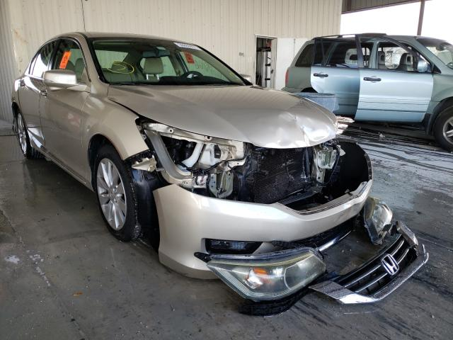 Salvage cars for sale from Copart Homestead, FL: 2015 Honda Accord EXL