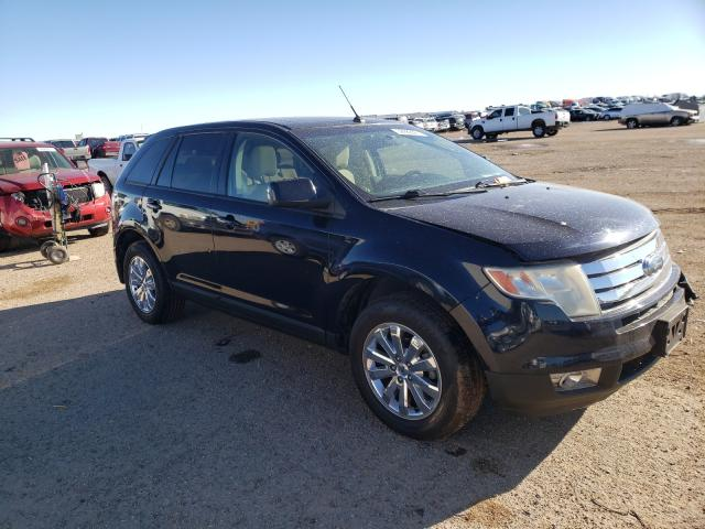 Salvage cars for sale from Copart Amarillo, TX: 2008 Ford Edge SEL