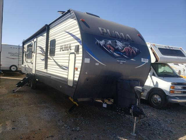 Puma salvage cars for sale: 2018 Puma Trailer