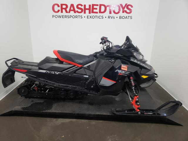 Salvage cars for sale from Copart Ham Lake, MN: 2020 Skidoo MXZ