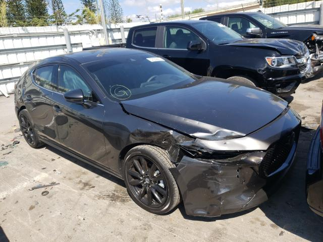 Mazda 3 Premium salvage cars for sale: 2021 Mazda 3 Premium