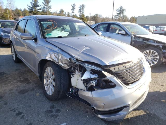 Salvage cars for sale from Copart Exeter, RI: 2013 Chrysler 200 Touring