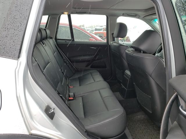 2007 BMW X3 3.0SI - Interior View