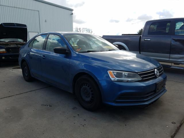 Salvage cars for sale from Copart Sacramento, CA: 2015 Volkswagen Jetta Base