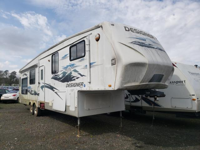 Jayco Designer salvage cars for sale: 2008 Jayco Designer