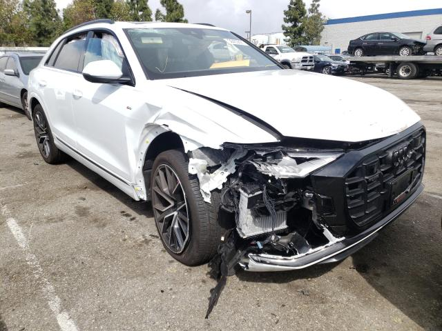 Audi Q8 Premium salvage cars for sale: 2021 Audi Q8 Premium