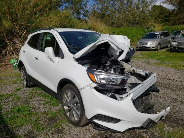 Salvage cars for sale from Copart Kapolei, HI: 2020 Buick Encore PRE