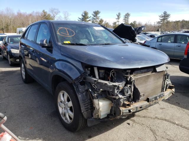 Salvage cars for sale from Copart Exeter, RI: 2012 KIA Sorento BA