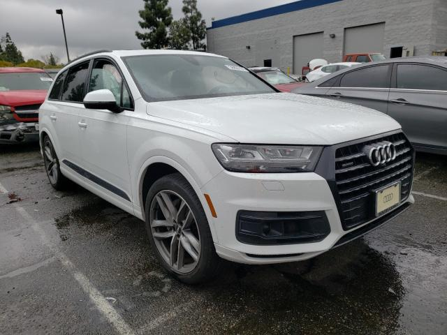 Salvage cars for sale from Copart Rancho Cucamonga, CA: 2017 Audi Q7 Prestige