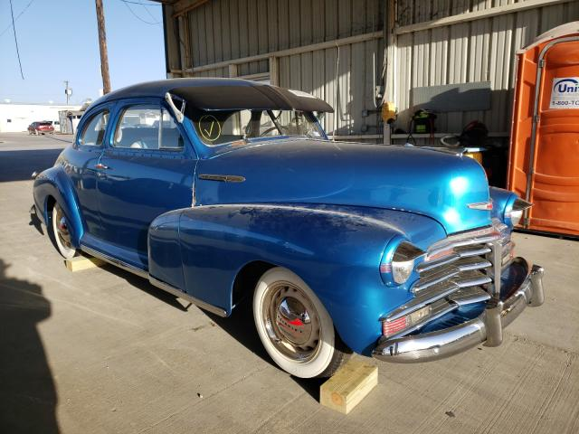 Salvage cars for sale from Copart Grand Prairie, TX: 1947 Chevrolet Fleetmastr