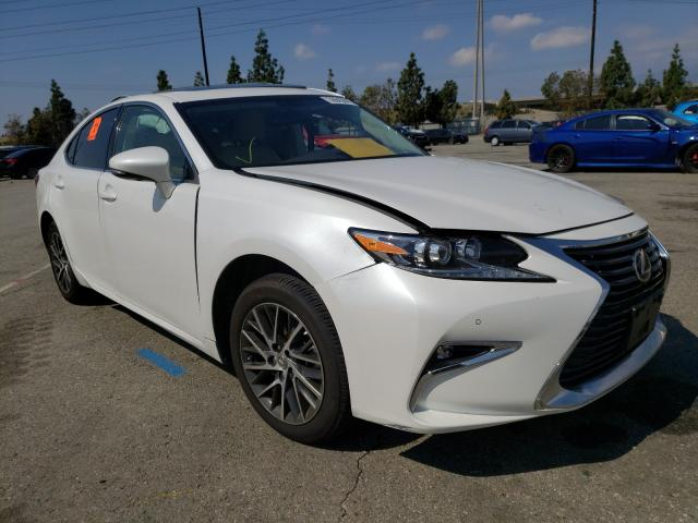 Salvage cars for sale from Copart Rancho Cucamonga, CA: 2016 Lexus ES 350