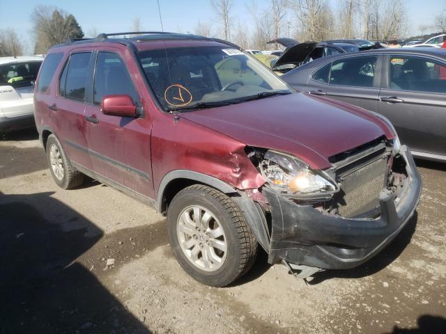 Vehiculos salvage en venta de Copart Portland, OR: 2006 Honda CR-V EX
