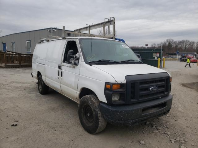 Salvage cars for sale from Copart Duryea, PA: 2013 Ford Econoline