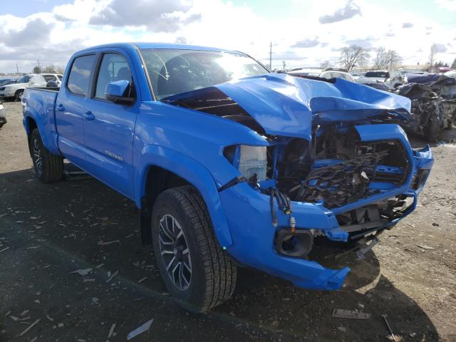 Salvage cars for sale from Copart Eugene, OR: 2020 Toyota Tacoma DOU