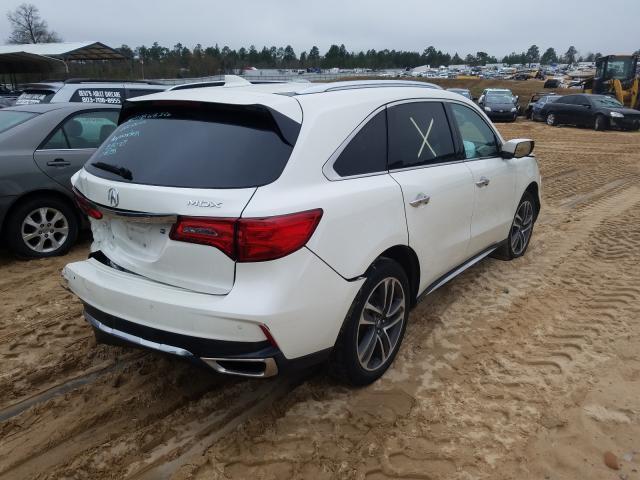 2017 ACURA MDX ADVANC - Right Rear View