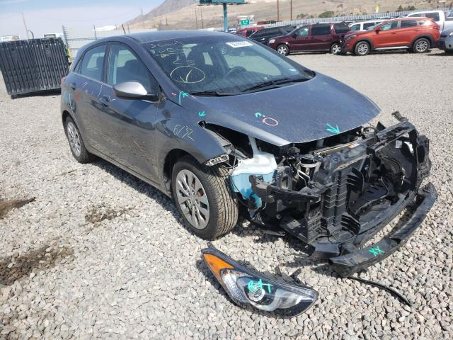 Salvage cars for sale from Copart Farr West, UT: 2016 Hyundai Elantra GT