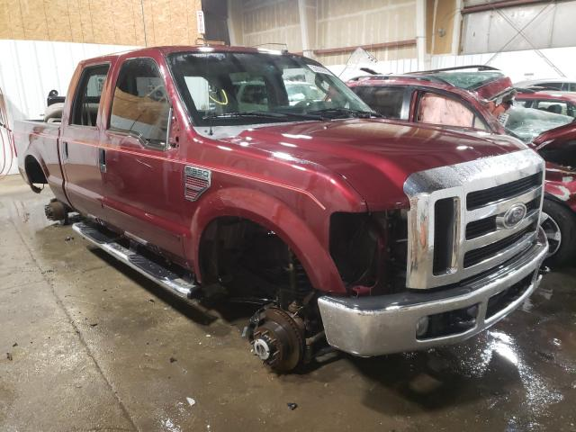 Salvage cars for sale from Copart Anchorage, AK: 2008 Ford F350 SRW S