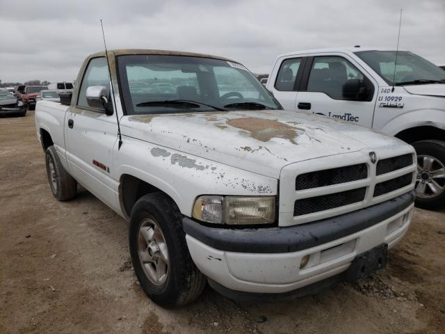 Salvage cars for sale from Copart Temple, TX: 1997 Dodge RAM 1500