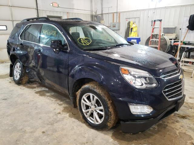 Salvage cars for sale from Copart Columbia, MO: 2017 Chevrolet Equinox LT
