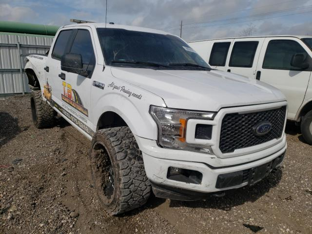 Salvage cars for sale from Copart Houston, TX: 2019 Ford F150 Super