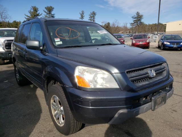 Salvage cars for sale from Copart Exeter, RI: 2005 Honda Pilot EXL