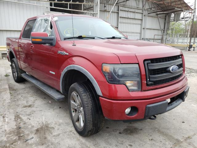Salvage cars for sale from Copart Corpus Christi, TX: 2013 Ford F150 Super