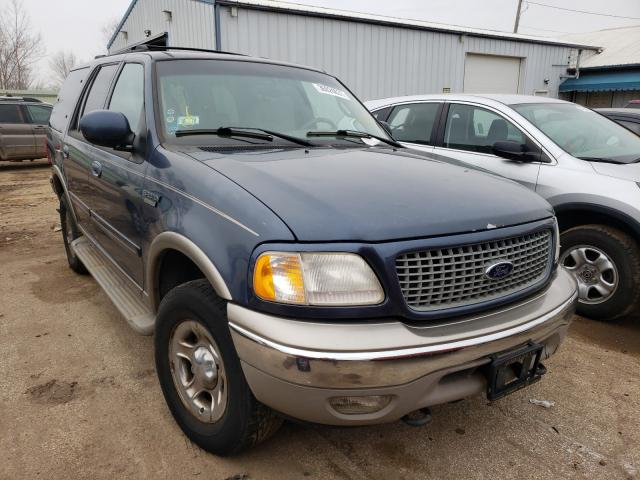 Salvage cars for sale from Copart Pekin, IL: 2001 Ford Expedition