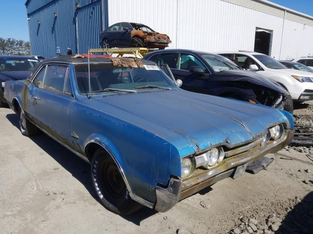 Oldsmobile Cutlass salvage cars for sale: 1967 Oldsmobile Cutlass