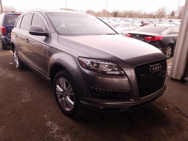 Salvage cars for sale from Copart Fort Wayne, IN: 2011 Audi Q7 Premium