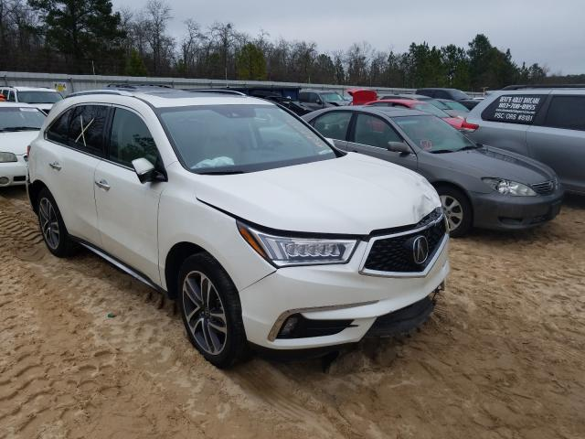 Salvage cars for sale from Copart Gaston, SC: 2017 Acura MDX Advance