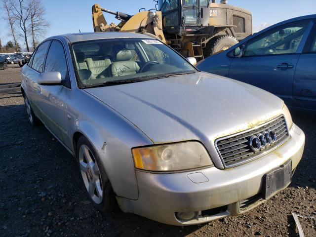 Salvage cars for sale from Copart Arlington, WA: 2003 Audi A6 2.7T Quattro