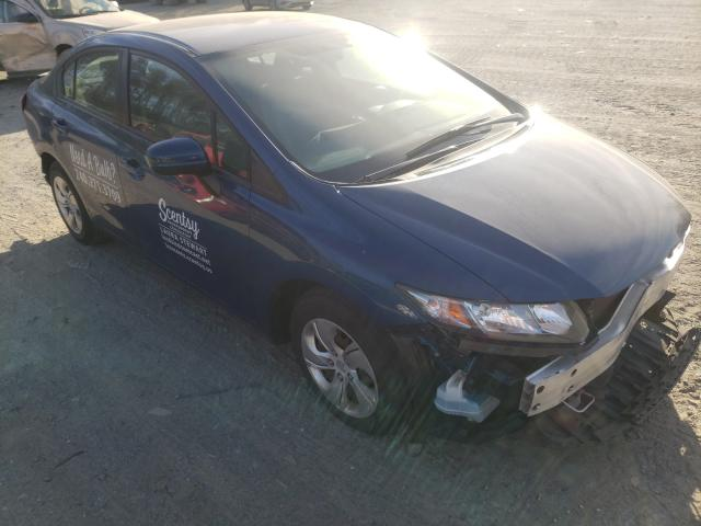 Salvage cars for sale from Copart Waldorf, MD: 2014 Honda Civic LX
